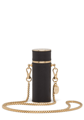 Prada necklace lipstick case - Black