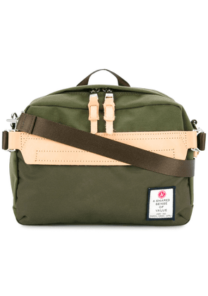 As2ov Hi Density mini shoulder bag - Green