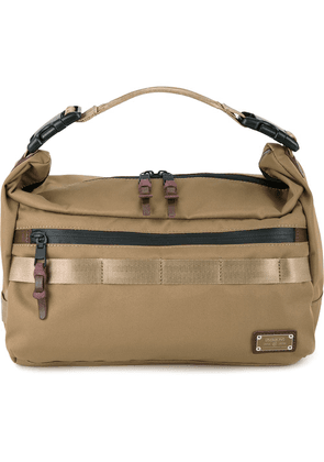 As2ov large Cordura Dobby 2way shoulder bag - Brown