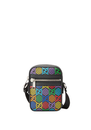 Gucci GG Psychedelic shoulder bag - Black
