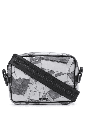 Off-White arrows print crossbody bag - Black