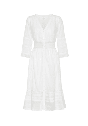 Angi cotton midi dress