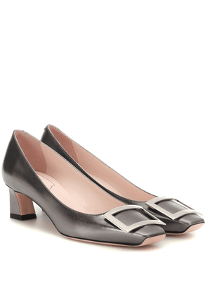 Trompette 45 leather pumps