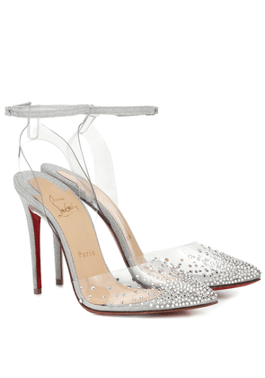 Exclusive to Mytheresa – Spikastrass 100 PVC pumps