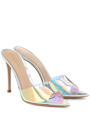 Elle 105 holographic PVC sandals