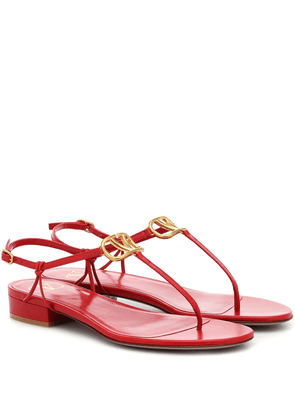 Valentino Garavani VLOGO leather sandals