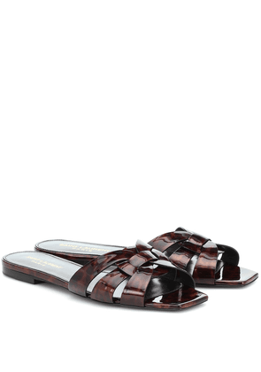 Nu Pieds 05 patent leather sandals