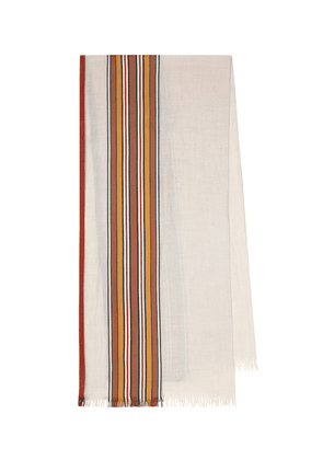 The Suitcase Stripe scarf
