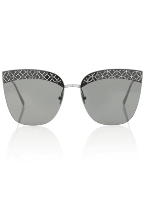 Embellished cat-eye sunglasses