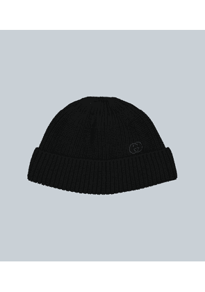 Cotton hat with interlocking G