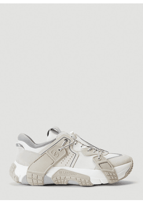 Valentino Panelled Low-Top Sneakers in White size EU - 41