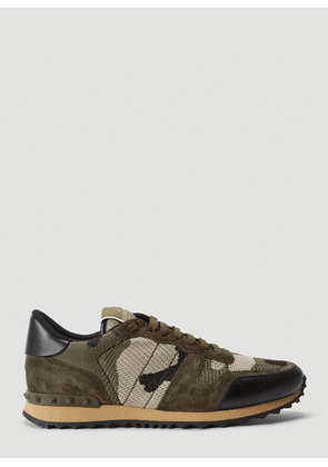 Valentino RockRunner Sneakers in Green size EU - 41