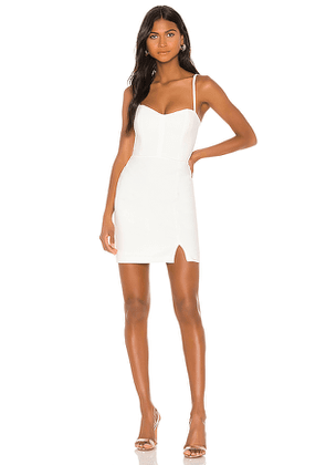 Nookie Muse Mini Dress in White. Size XS,M.