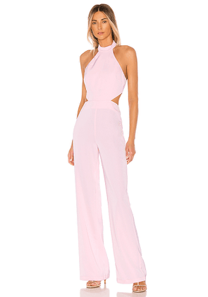 NBD x Naven Olivia Jumpsuit in Pink. Size S,M.