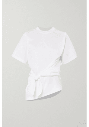 Marques' Almeida - Knotted Cotton-jersey T-shirt - White