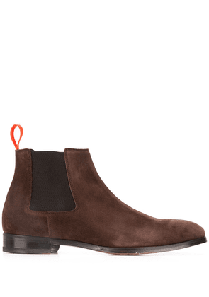 Paul Smith ankle length elasticated boots - Brown