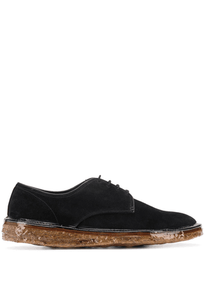 Premiata lace-up flat shoes - Black