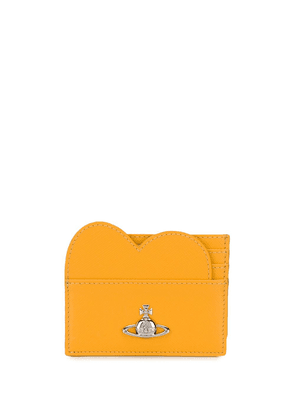 Vivienne Westwood logo plaque heart wallet - Yellow