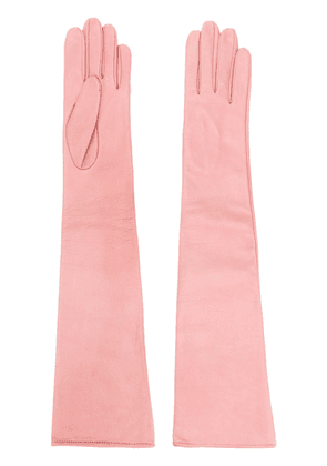 Manokhi long gloves - PINK