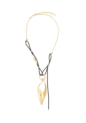 Ellery Odyssey spiral pendant necklace - GOLD
