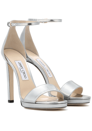Misty 120 leather sandals