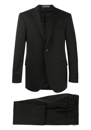 Corneliani fitted two-piece suit - Black