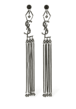 Pompon Marrakech Logo Earrings
