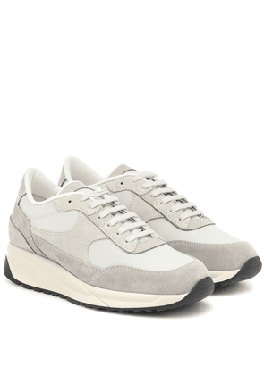 Track Classic suede and mesh sneakers