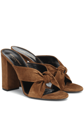 Loulou 100 suede sandals