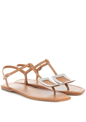 Biki Viv' leather sandals