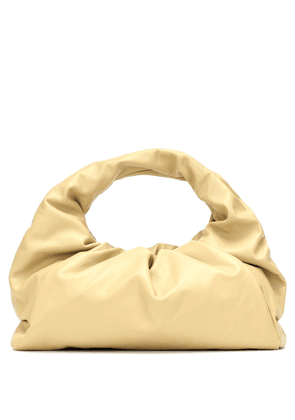 The Shoulder Pouch leather tote