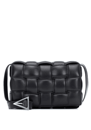 Padded Cassette leather shoulder bag