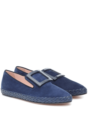 Viv' Lounge suede loafers