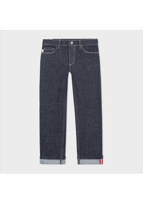 2-6 Years 'Viber' Denim Jeans With Reflective Details