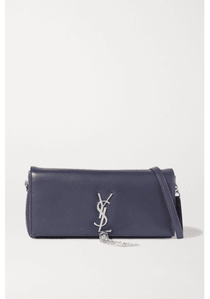 SAINT LAURENT - Kate Leather Shoulder Bag - Navy