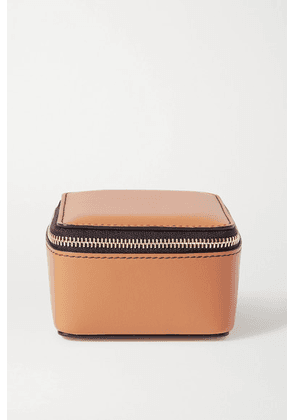 Smythson - Bond Leather Pouch - Tan