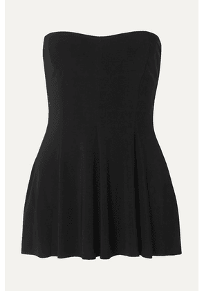 Norma Kamali - Strapless Swim Dress - Black