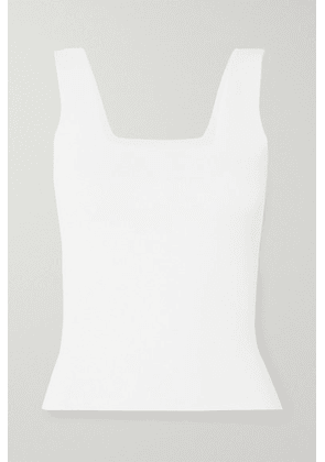 Vince - Knitted Tank - White