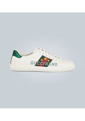 Men's Ace sneaker with Gucci Band