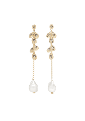 Celeste baroque pearl earrings