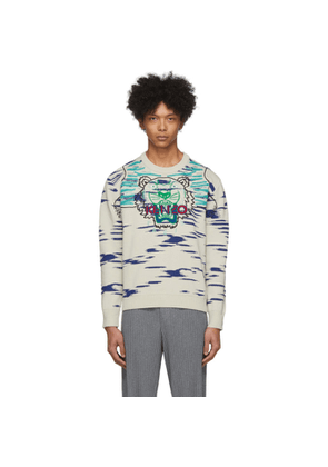 Kenzo Off-White Claw Tiger Sweater