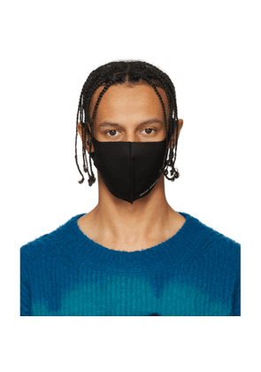 Palm Angels Black Anti-Pollution Mask