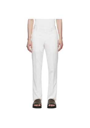 Givenchy Off-White Wool Trousers