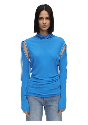Lvr Exclusive Top W/ Detachable Sleeves