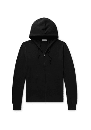 The Row - Harry Cashmere Zip-up Hoodie - Black
