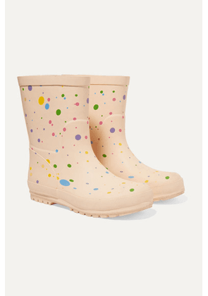 Stella McCartney Kids - Polka-dot Rubber Rain Boots - White