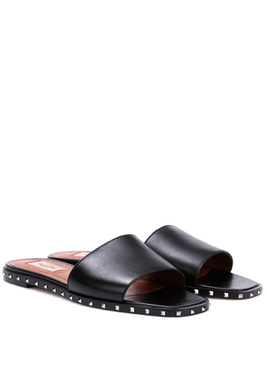 Valentino Garavani Rockstud leather slides