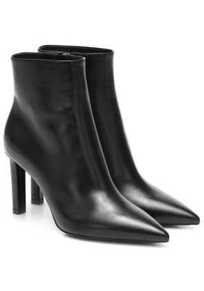 Kate 85 leather ankle boots