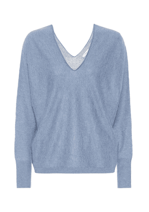 Cashmere and linen sweater