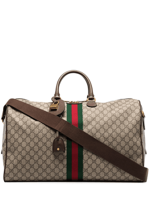 Gucci Ophidia GG duffle bag - Brown